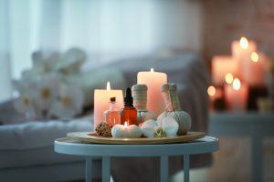 self massage candels